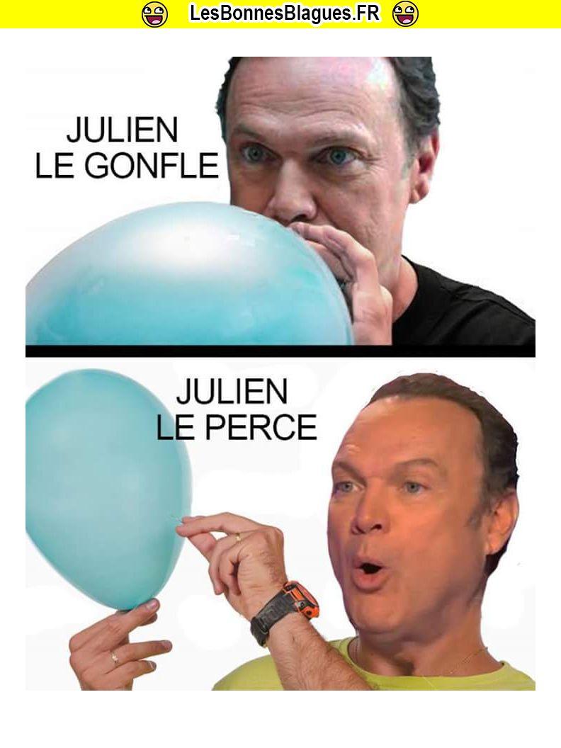 Julien le gonfle, Julien le perce_lesbonnesblagues.fr
